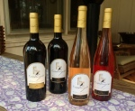 Some of the latest bottles from Crow Farm and Vineyard.