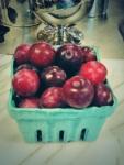 Smaller than golf balls, these sugar plums were like honey.