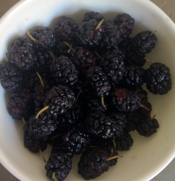 Smaller than blackberries, mulberries have a sweet-tart flavor and are high in antioxidants.